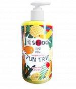 Крем-гель для рук Sendo Экзотические фрукты, 460 мл