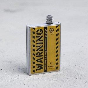 Вечные спички «Warning», 7 х 4 х 1 см