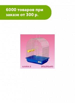 Клетка для птиц Алина-2 большой поддон 39*29*49см