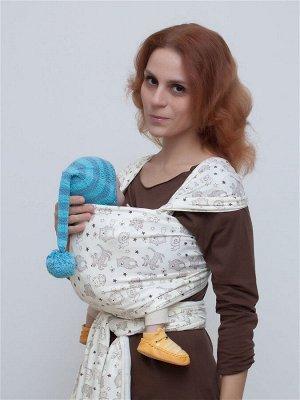 "Слинг-шарф Karaush ""Зверюшки"" трикотажный"