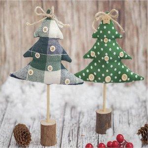 Ёлки на подставке «Сказочный лес», набор для шитья, 10,5 ? 16 ? 5 см