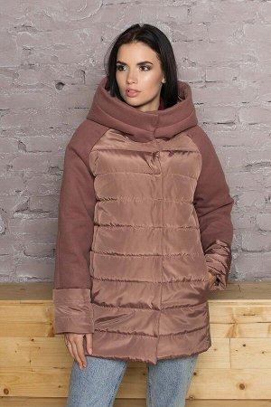 """Куртка """"AZ-319"""" (коричневый)"""