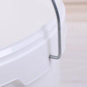 Бак-ведро пищевой, 13,2 л, с герметичной крышкой, «Для солений»