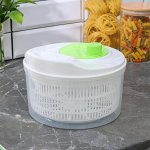 Сушилка для зелени Альтернатива «Линет», цвет белый