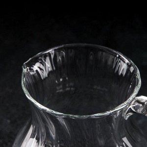 Кувшин НЕМАН «Рифлёнка», 1 л, без крышки