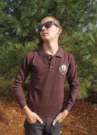 Трусики и бюстгальтеры, мужские футболки, коррекц. белье — Футболки-поло от 390 руб. Производство Турция. S-5XL — Футболки-поло