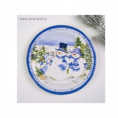 Добрый шкаф. Готовимся к Новому году. — Одноразовые тарелки . — Украшения для интерьера