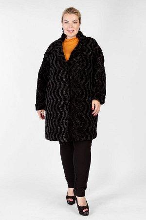 Пальто PL40136BLK01
