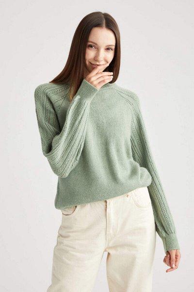 DEFACTO- платья, свитеры, кардиганы Кофты,  джинсы и пр   — Женские свитеры и джемперы 2 — Свитеры