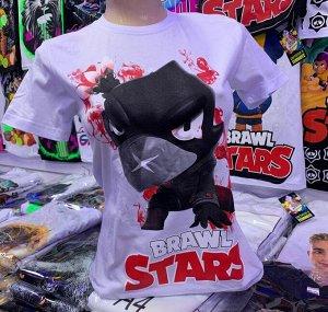 Светящаяся футболка «Brawl stars»