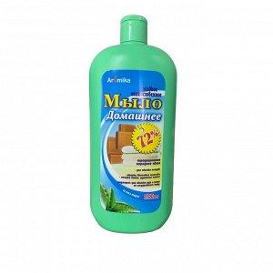 Жидкое мыло хозяйственное Домашнее Алоэ вера 1100 мл