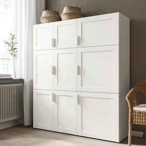 SANNIDAL САННИДАЛЬ Дверь, белый 40x60 см