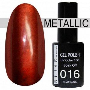 Гель-лак BLISE METALLIС 16