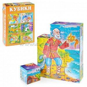 Кубики в картинках 25 Русские сказки ( из 12-ти штук)