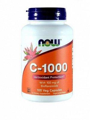 Витамин C NOW C-1000 - 100 капс.