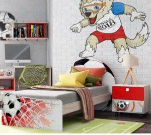"""Кровать для детской КР-33 """"Футбол"""""""
