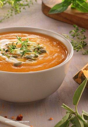 Крем-суп тыквенно-чечевичный