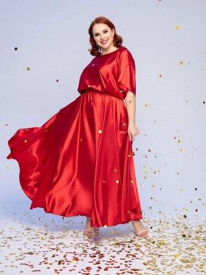 Платье 001Б-3 алое
