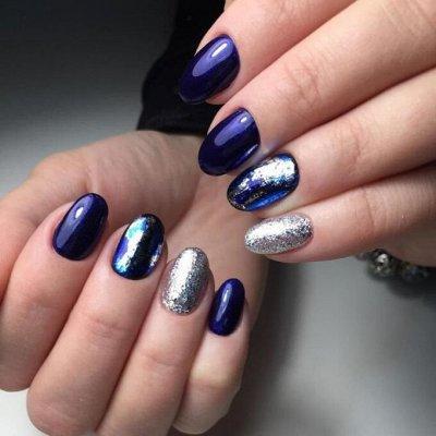 Гель лаки и дизайн для ногтей BLUESKY / COFEX / BLISE — Слайдеры, фольга, слюда — Дизайн ногтей