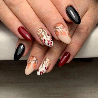 Гель лаки и дизайн для ногтей BLUESKY / COFEX / BLISE — Акварель и акриловые краски, фломастеры — Дизайн ногтей