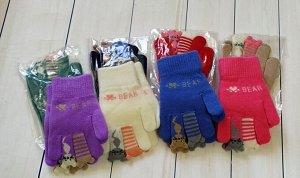 Перчатки детские с начесом (3-6лет)