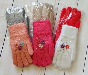 Перчатки детские с начесом (10-15 лет)