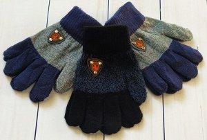 Перчатки детские с начесом (3-5 лет)