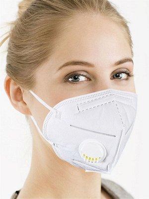 Респиратор С КЛАПАНОМ Описание: Защитная маска-респиратор с клапаном KN95 (соответствует американскому стандарту FDA N95 и европейскому CE FFP2) предназначена для защиты органов дыхания от опасных час