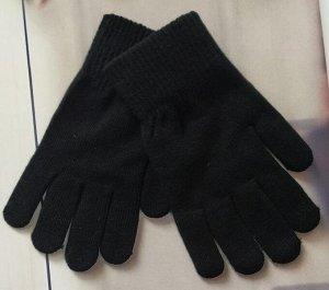 Перчатки подростковые с начесом (8-13лет)