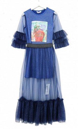Платье Deloras 20912 Электрик *