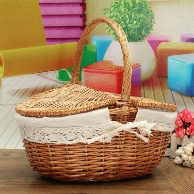 Соц. закупка💯Время экономить! Лучшие товары  — Плетеные корзиночки — Для дома