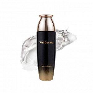 Увлажняющий, противовоспалительный тонер с германием, WellDerma Revital Ge Gold Toner 150мл