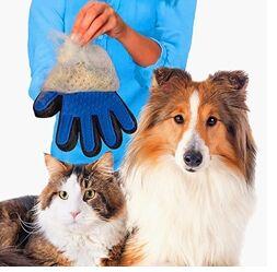 Перчатка для вычесывания шерсти домашних животных, OSSO