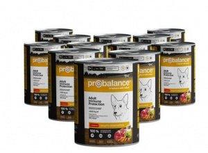 ProBalance Immuno Protection влажный корм для взрослых собак с говядиной 850 гр конс