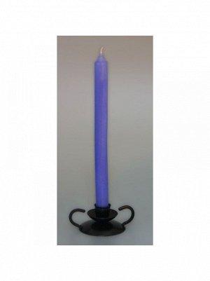 Свеча классическая набор 2 шт цвет лавандовый