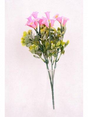 Букет с розовыми цветами 33см