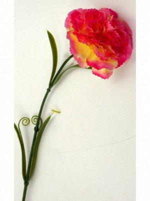 Гвоздика желто-розовая 58см