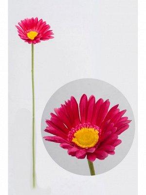 Гербера цветок искусственный цвет фукси