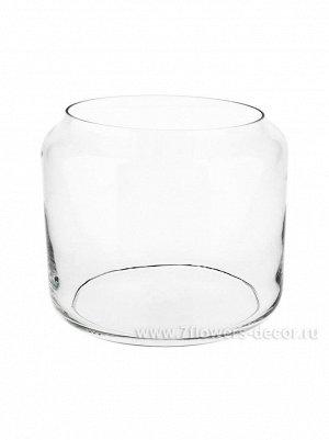 Ваза стекло Артуа-1  D20 х H17 см