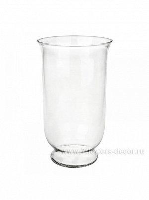 Ваза Афина D 17;3 х H 30 см стекло