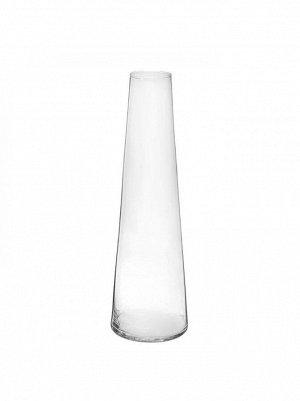 Ваза стекло Коническая D 12*6 х H 39 см
