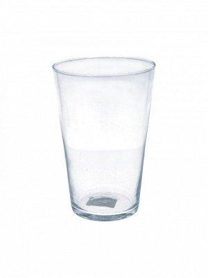 Ваза стекло Коническая D10 х Н15см