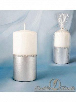 Пеньковая Серебристо-белый 60 х125 см свеча