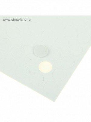 Скотч декоративный двусторонний Круглый 1,5 х 1,5 см15 х 15 см