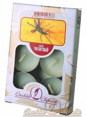 Свеча чайная 12 гр х 6 шт Антимоскитный ароматизированная