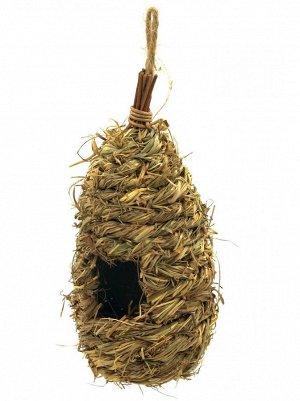 Гнездо иволги из соломы 10 х 25 см
