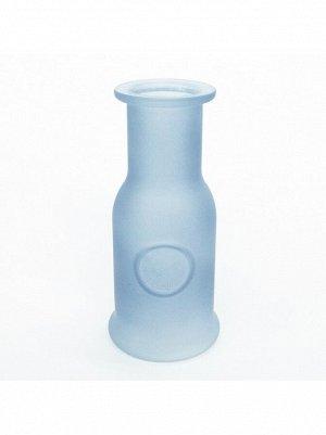 Ваза стекло Любовь h=17 см d=7;5 см цвет матовый синий HS-40-3