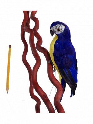 Попугай 38 см цвет микс HS-18-4