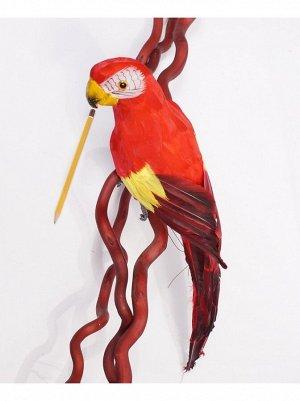 Попугай 42 см цвет микс HS-18-2