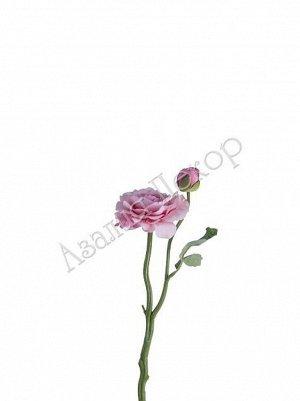 Камелия 36 см розовый